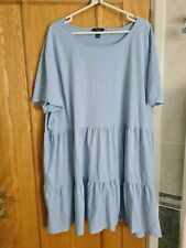 Ladies New Look Size 30 Dress Blue Very Good Condition