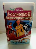 Disney's Pocahontas 2: Journey to a New World *VHS 1995 Clamshell Case Like New!