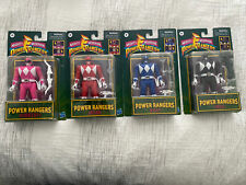 Power Rangers Retro-Morphin Ranger Flip Head NEW Hasbro Complete Lot Nib