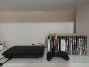 Sony PlayStation 3 Super Slim 500GB + Controller + bundle 20 giochi DVD original
