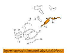 NISSAN OEM 00-02 Xterra 3.3L-V6-Muffler 201007Z800