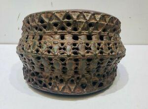 Antique Bronze Brass Copper Metal Benin Nigeria Africa Armband Cuff Bracelet
