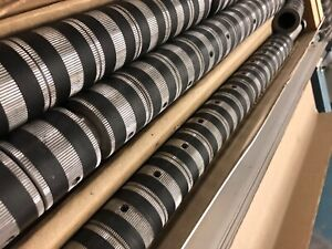 MBO B-23 Segmented Folder Rollers. Three New Eight Page Unit Folder Rollers.