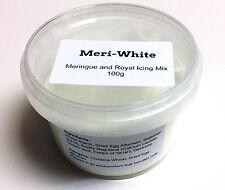 Ingram Meri White Powdered egg white ALBUMEN Substitute 100G - Cake Decorating