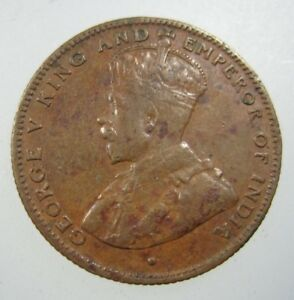 STRAITS SETTLEMENTS 1/2 CENT 1916 BRITISH EAST INDIA MALAYSIA SINGAPORE 58# COIN