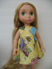 "Clothes for Disney Princess Animators Toddler Handmade Outfit~16"" Doll Dress"