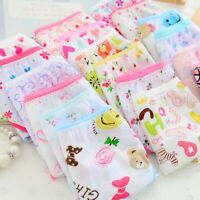 6pcs/Lot Baby Kids Girls Underpants Cotton Panties Child Underwear Short Briefs