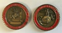 USMC Marine MCRD San Diego Graduation Challenge Coin (Chesty, Miramar, Parris)