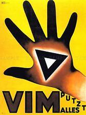 Vili DETERGENTE SVIZZERA advertising poster Retrò Parete Foto 1570pylv