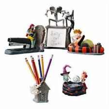 New! Rare Disney Tim Burton's The Nightmare Before Christmas 5-pc Desk Set