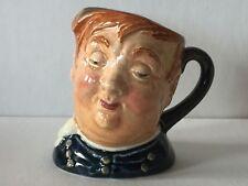 """Vintage Royal Doulton """"Fat Boy"""" 2-1/2 """" """"A� Mark Character Toby Mug"""