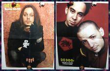 Linkin Park Chester Bennington / HIM Ville Valo 2-sided magazine poster A2 23х16