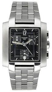 Tissot Swiss Made T-Trend TXL Black Chrono Men's Stainless Steel Watch T60158752