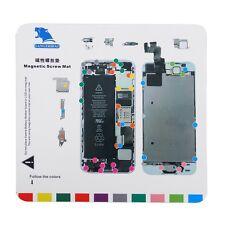 Professional Magnetic Screw Mat Technician Repair Pad Guide For iPhone 5 5S URJV