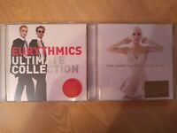 Eurythmics Ultimate Collection & The Annie Lennox Collection CDs  VGC +