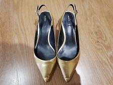 Aldo Women's Gold Shoes Size 5