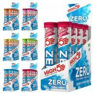 8 x HIGH 5 ZERO HYDRATION ELECTROLYTE SPORT ENERGY DRINK TAB TABLETS - 160 TABS
