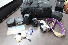 Sony Alpha a6000 24.3 MP Digital Camera -Silver with extras!!!!