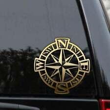 Compass Decal Sticker Nautical Sailor Car Truck Boat Ship Window Laptop Wall