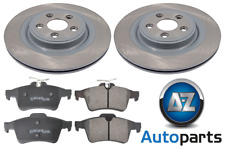 For Jaguar - XF 2008-2015 2.2 2.7D 3.0 4.2 5.0 Rear 326mm Brake Discs and Pads
