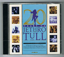 JETHRO TULL - 20 YEARS OF - 21 TITRES - CD NEUF NEW NEU