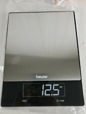 Beurer KS 34 XL Digital Silver Kitchen Scale Fine Scale Genuine.....open box