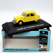 IXO CITROEN 2CV Citroneta 1970 Chile Car Diecast Toys Models 1:43  Collection