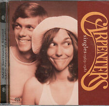 THE CARPENTERS - SINGLES 1969-1981 - SACD SUPER AUDIO CD 5.1 SURROUND HYBRID NEW