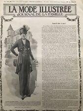 MODE ILLUSTREE SEWING PATTERN Jan 24,1915 - Interior Dresses, blouses, Matinee
