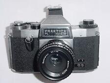 Praktica Pl Nova ib 35mm cámara SLR de película Manual Con Lente Domiplan 50mm F/2.8