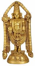 Venkateswara Brass Tirupati Balaji Exotic Sculpture Temple Decor Statue Hindu