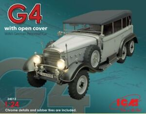 ICM24012 - ICM 1:24 - Typ G4 Soft Top WWII German Personnel Car