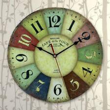Relojes de pared redonda sin marca color principal multicolor
