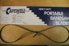 """53-3/4"""" 10 TPI Capewell Portaband Bandsaw Blades 3Pack"""