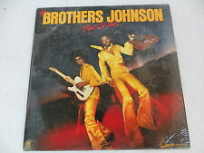 The Brothers Johnson RIGHT ON TIME A&M SP1644 W/Insert Record club issue NM-