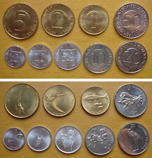 Slovenia coins set of 9 pieces UNC