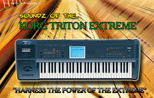 Korg Triton Extreme Soundz - Sample DVD - Kontakt  + Wav Samples