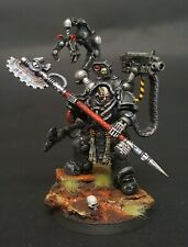 Games Workshop Warhammer 40K Iron Hands Feirros COMMISSION  Pro Painted