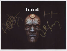 Tool (Band) Danny Carey SIGNED Photo 1st Generation PRINT No'd + Certificate / 4