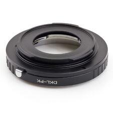 Voigtlander Retina DKL lens to Pentax PK adapter K-r K7  K-01 K-5 K-r K-3 K-50