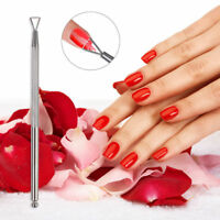 UV-Gel Polish Remover Triangle Stick/Rod Pusher Nail Art Stainless Steel Tools