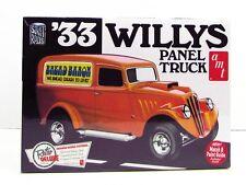 AMT 879 1933 Willys Panel Truck Plastic Model Kit 1/25