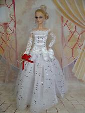 BARBIE DOLL ROBE DE MARIÉE WEDDING GOWN BRIDE # 05396