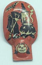 US metal toy noise maker halloween Witch Brew Broom Bat Pumpkin JOL WORKS #3