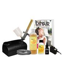 Dinair Airbrush Sunless Tanning Kit Quick & Easy Summer Time Tan Set