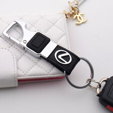1Pack Leather Key Chain for Lexus is300 es350 rx 350 ls460 gx460 nx f nx200t rcf valet is250 rx350 ls 430 ls 460 KeyChain Family Present for Man and Woman accessories keyring Elegant