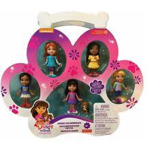 Dora and Friends Doggie Day Adventure Mini Doll 6pc Figure Playset Set Free Ship