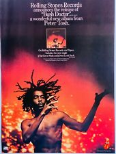 BOB MARLEY AND THE WAILERS 1978 original POSTER ADVERT BUSH DOCTOR