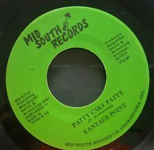 "VANTAGE POINT Patty Cake Patty RARE FUNK BOOGIE Vinyl 7""/45 on MID SOUTH RECORDS"