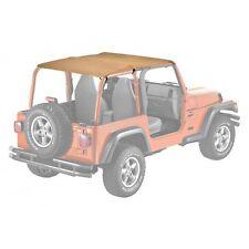 Nero per 1976-1991 Jeep Cj7 Cj8 Wrangler Yj Bestop Tradizionale Bikini